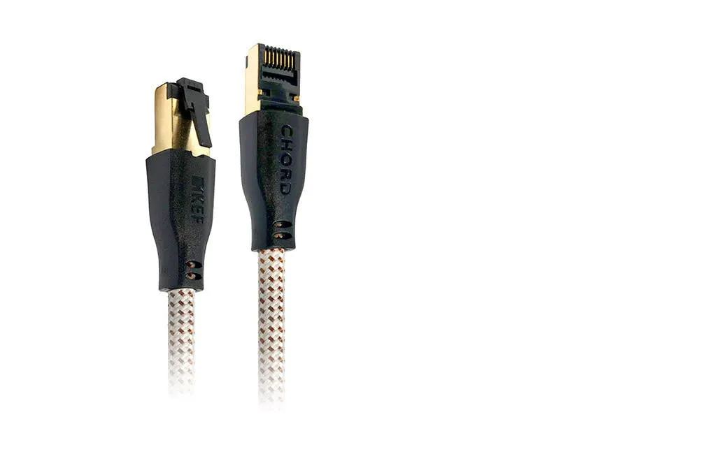KEF K-Stream Cable (White/Gold)
