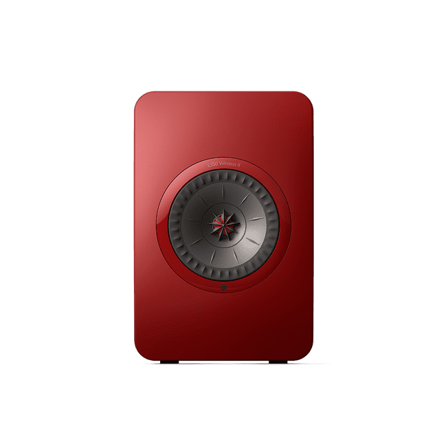 KEF LS50 Wireless II (Crimson Red)
