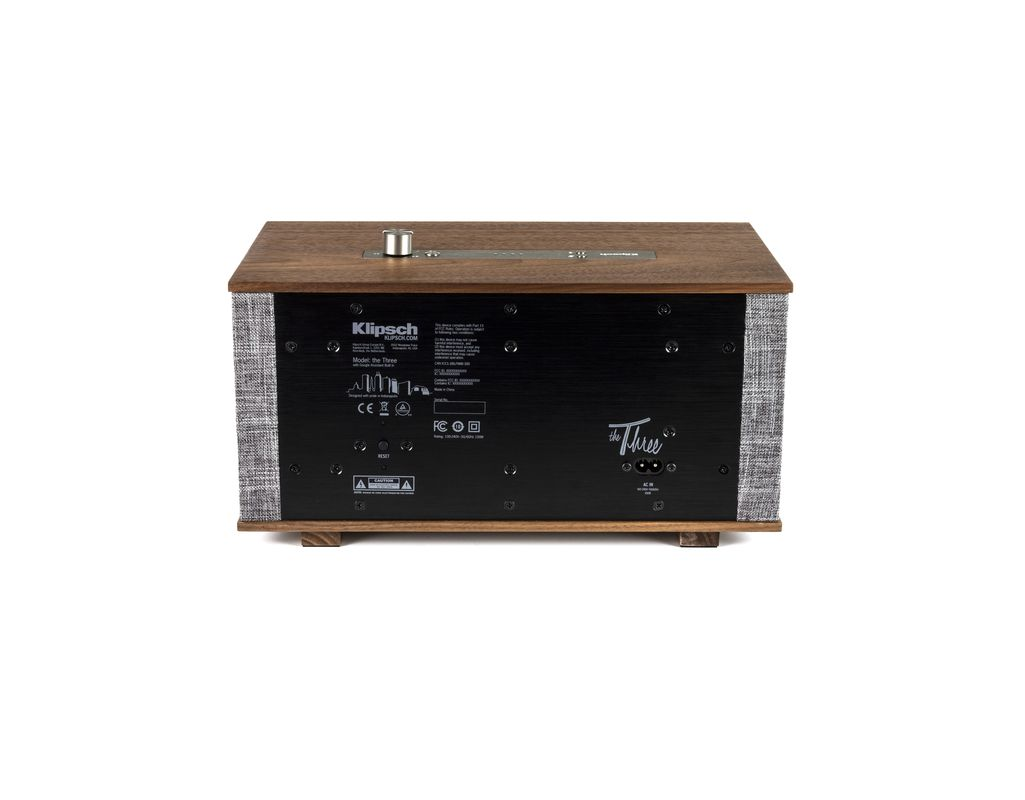 Klipsch The Three GVA (Walnut) Google Assistant